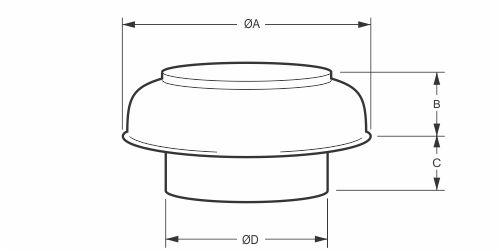 model  ja015hr - releif air cowl