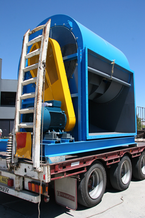Large DWDI Centrifugal Fan Ready For Despatch
